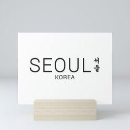 Seoul Korea Mini Art Print