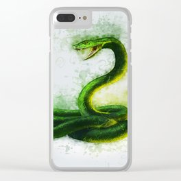 Snake Cobra Clear iPhone Case