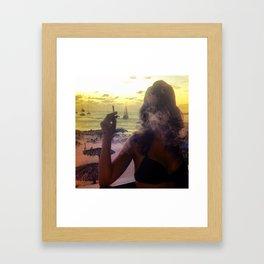 Caribbean Fog Framed Art Print