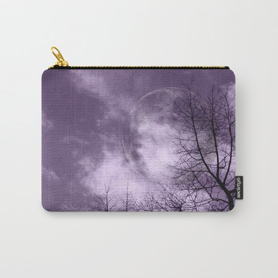 Purple Night  - JUSTART © Carry-All Pouch