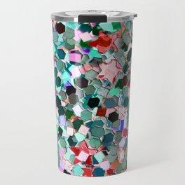 Colorful Sparkles Travel Mug