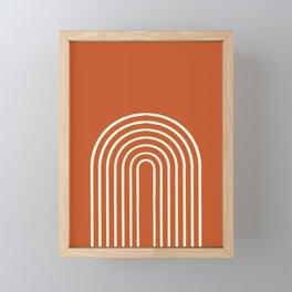 Terracota Framed Mini Art Print