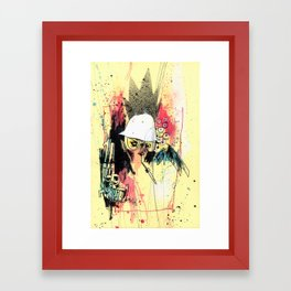 Pure Gonzo Framed Art Print