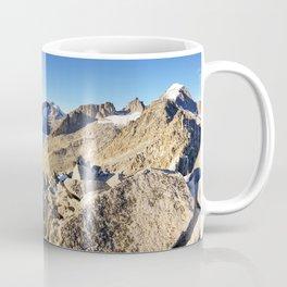 Rhone Glacier In The Swiss Alps Coffee Mug