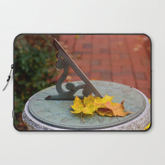 Sun Clock Laptop Sleeve