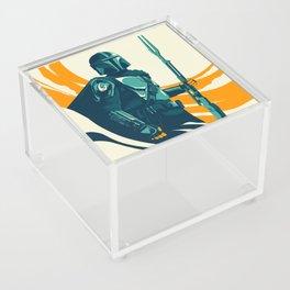 """Mando"" by Matt Kehler Acrylic Box"