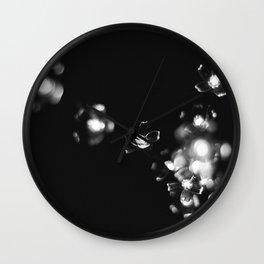 Flower Lights Wall Clock