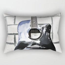 Be Your Song and Rock On in White Rectangular Pillow