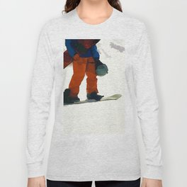 Ready to Ride! - Snowboarder Long Sleeve T-shirt