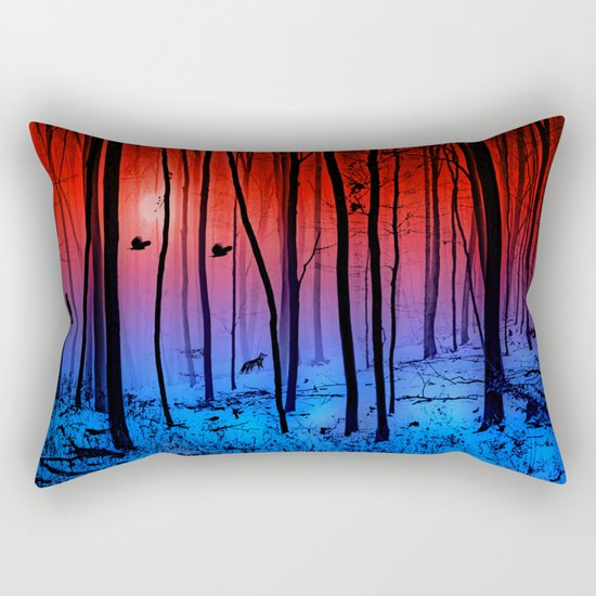 Mystical forest Rectangular Pillow