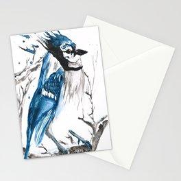True Blue Jay Stationery Cards