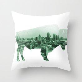 Roam KC Throw Pillow