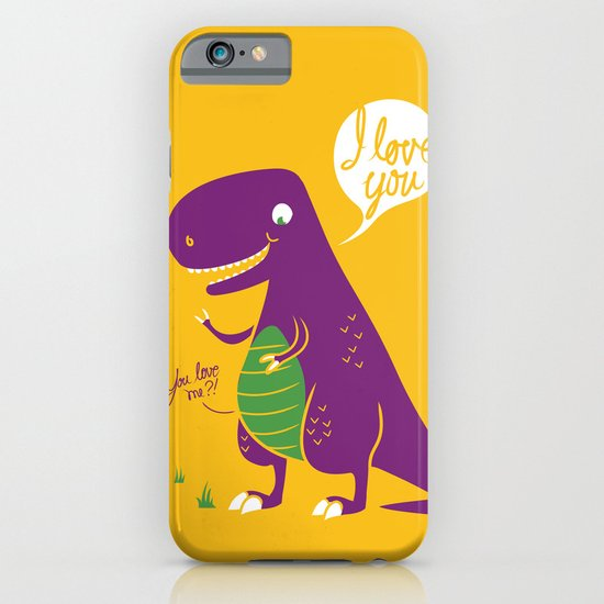 The Friendly T-Rex iPhone & iPod Case