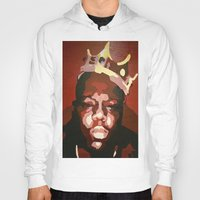 notorious big Hoodies featuring Notorious Big by The Art Of Gem Starr