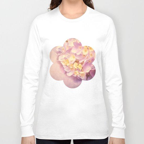 HYDRANGEA VINTAGE Long Sleeve T-shirt