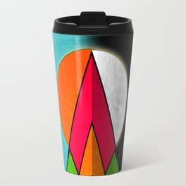 Mountain Day and Night Travel Mug