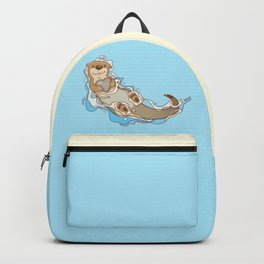 Will you be my otter half? Backpack