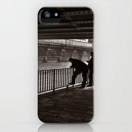 Autumnal Symphony of a Metropolis iPhone Case