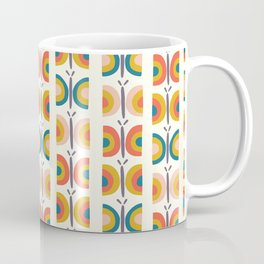 Retro Butterflies Coffee Mug