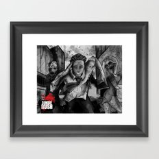 Zombie Rush - Deacon Promo Framed Art Print