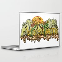 yosemite Laptop & iPad Skins featuring Yosemite  by Geryes