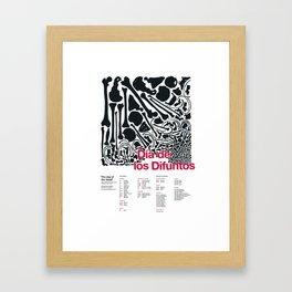 Día de los Difuntos (Day of the Dead) Framed Art Print