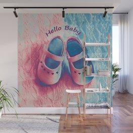 Hello Baby Wall Mural