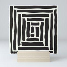 Geometric Tile Network Mini Art Print
