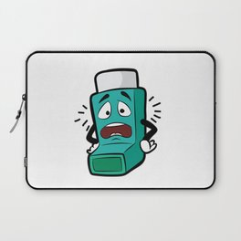 I SUCK AT BREATHING Inhaler Inhale Wheeze Sports Laptop Sleeve