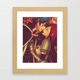 Jerza Framed Art Print
