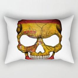 Exclusive Spain skull design Rectangular Pillow