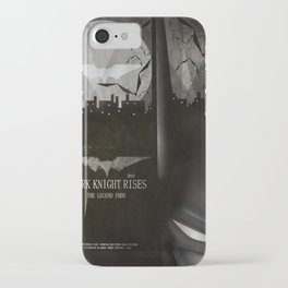 dark knight rises movie fan poster iPhone Case