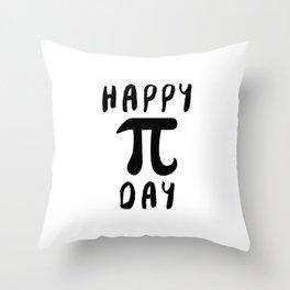 Happy Pi Day Throw Pillow