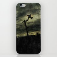 hunting iPhone & iPod Skins featuring Hunting by Matthew Dunn