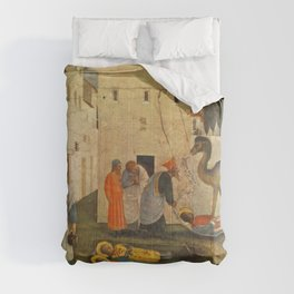 Fra Angelico - Sepulchring of Saint Cosmas and Saint Damian Comforters