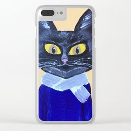 Marx the Cat Clear iPhone Case