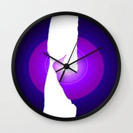 Purple Pecker (stop sniggering) Wall Clock