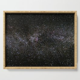 Milky Way Stars Serving Tray