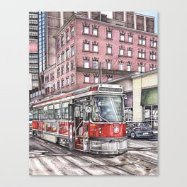 Spadina King Canvas Print