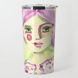 Lavender Lady Travel Mug