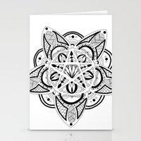 pentagram Stationery Cards featuring Pentagram by Captain Dibbzy
