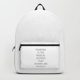 Feminism | Sexism Feminine Gender Roles Girls Gift Backpack
