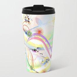 Abstrakt - Frühling 1 Travel Mug