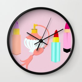 Dangerous Lipsticks Wall Clock