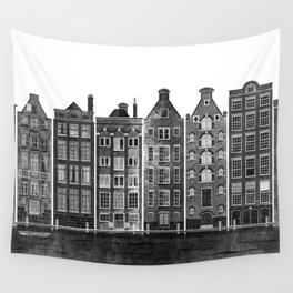 Let's play in Amsterdam Wall Tapestry
