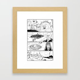 Mutti Andrea for Mad Max Fury Draw Framed Art Print