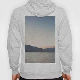 sunset over the lake ... Hoody