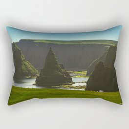Sea Stacks at Duncansby Head Rectangular Pillow