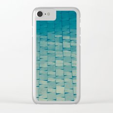 Stylish texture Clear iPhone Case