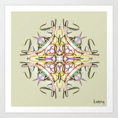 Symbiosis II Art Print